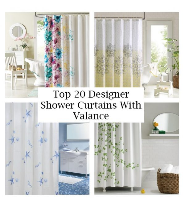click the images for more details about designer shower curtains with valance medium