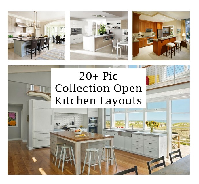 click the images for more details about open kitchen layouts medium