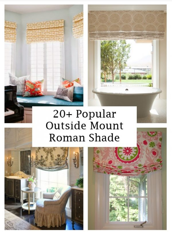 click the images for more details about outside mount roman shade medium