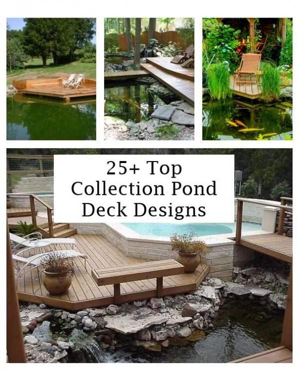 click the images for more details about pond deck designs medium