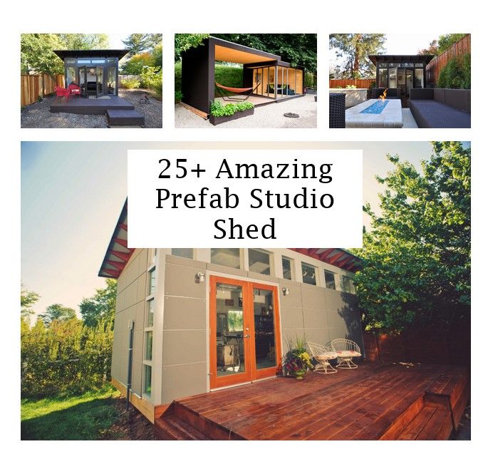 click the images for more details about prefab studio shed medium
