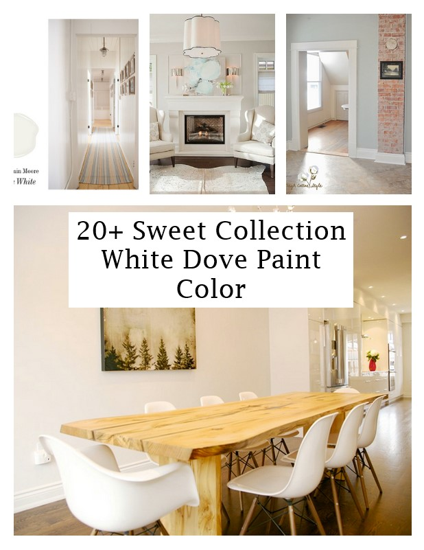 click the images for more details about white dove paint color