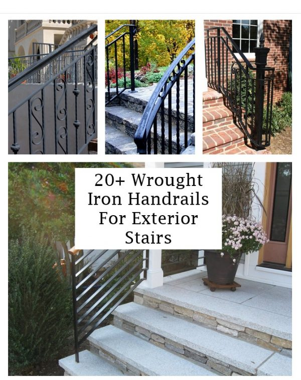 click the images for more details about  wrought iron handrails for exterior stairs medium