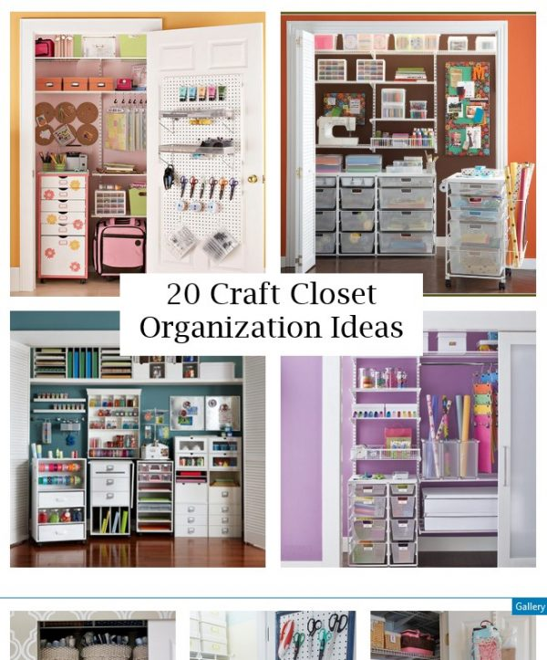 looking for a creative craft closet organization ideas medium