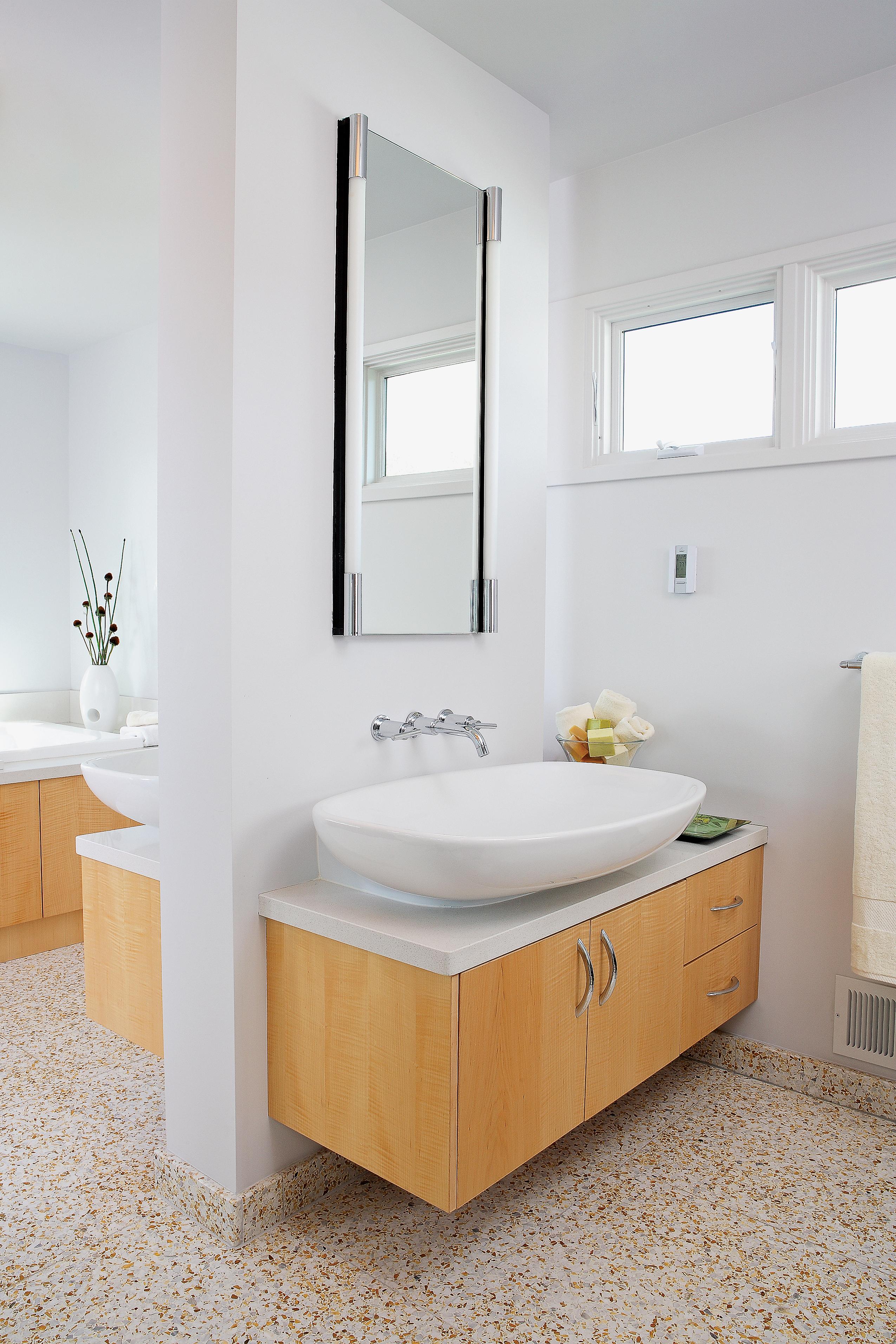 12 ideas for bathroom counters sunset magazine