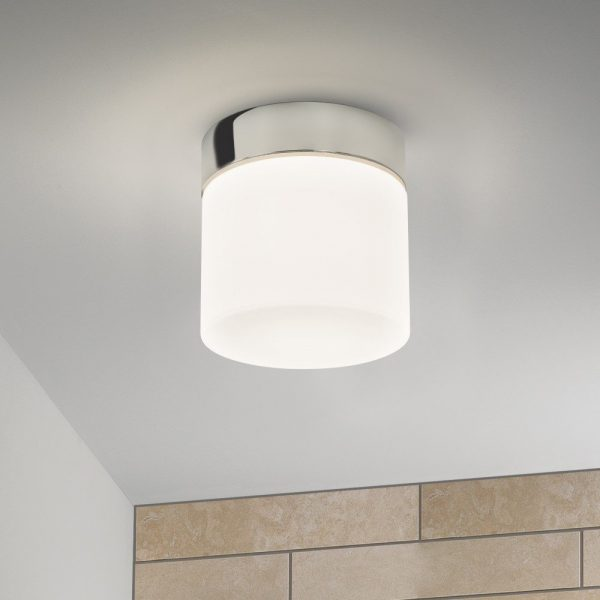 Astro Lighting 7024 Sabina Round Bathroom Ceiling Light In Medium