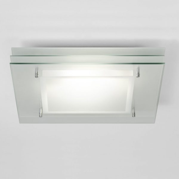 Astro Lighting Plaza Square 0570 Bathroom Ceiling Light Medium