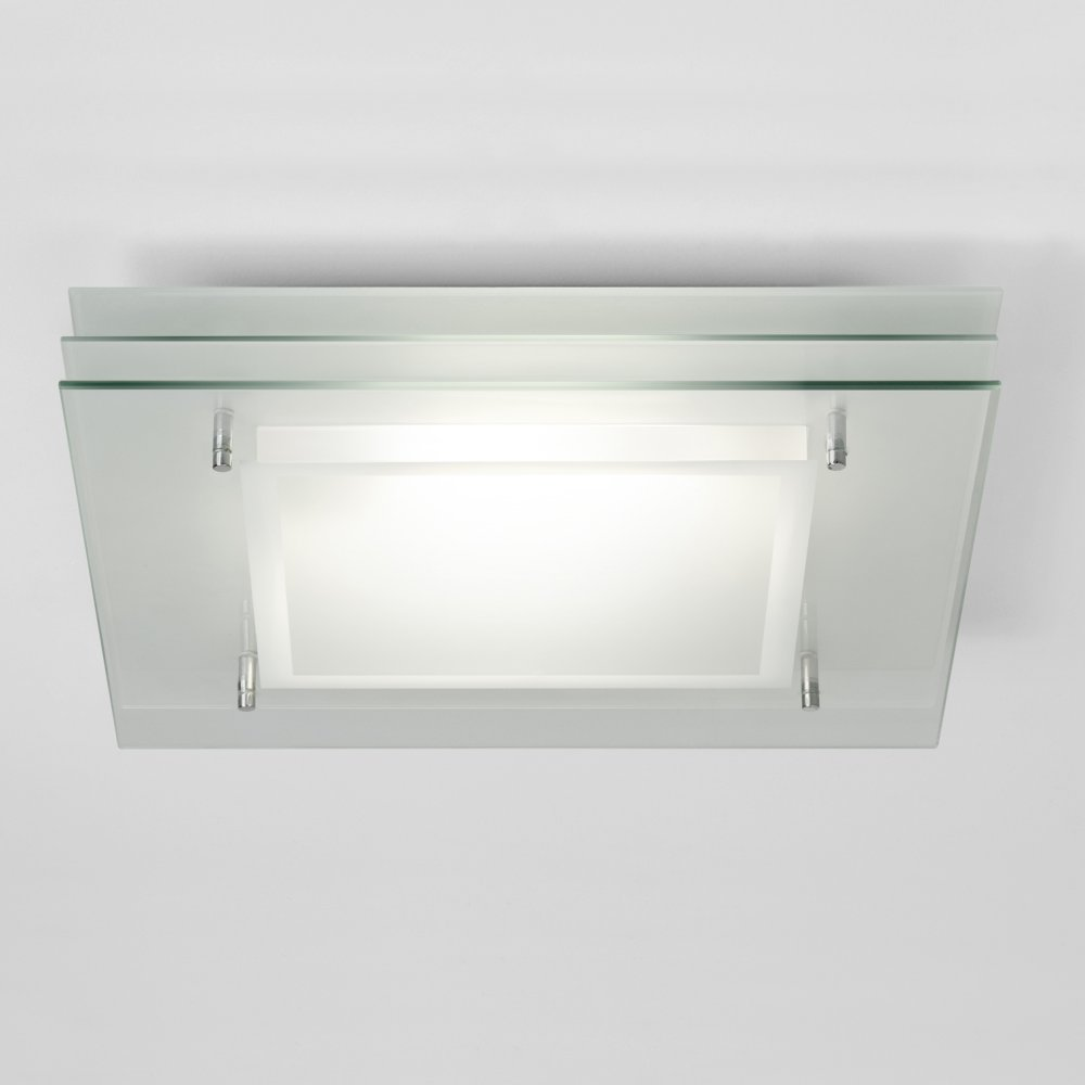 astro lighting plaza square 0570 bathroom ceiling light