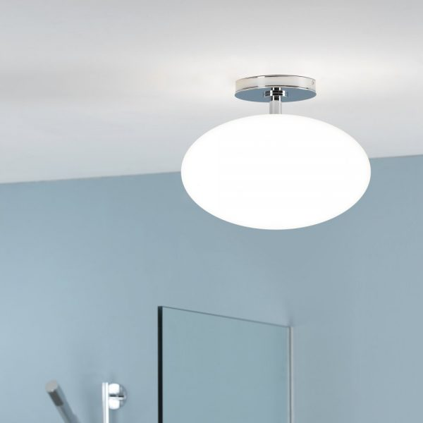 Astro Lighting Zeppo 0830 Polished Chrome Bathroom Ceiling Medium