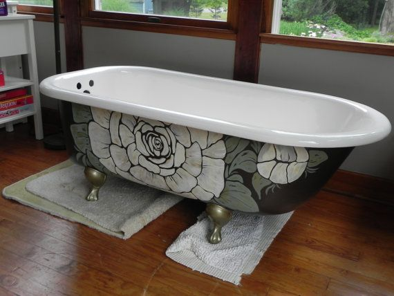 Browse Painting The Exterior Of Your Clawfoot Bathtub This Is A Medium