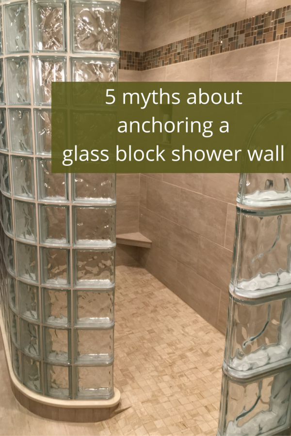 Collection 5 Myths About How To Anchor A Glass Block Shower Wall Medium