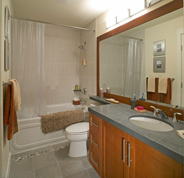 Example Of A Bathroom Glamorous Simple Bathroom Remodel Budget Medium
