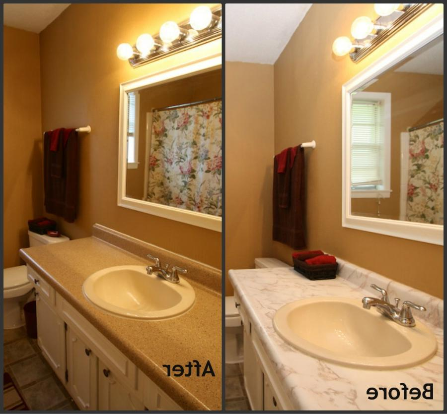 example of a beautiful small bathrooms photos