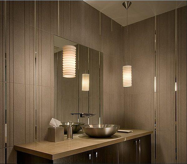 Explore Bathroom Pendant Lighting Ideas With Popular Example Medium
