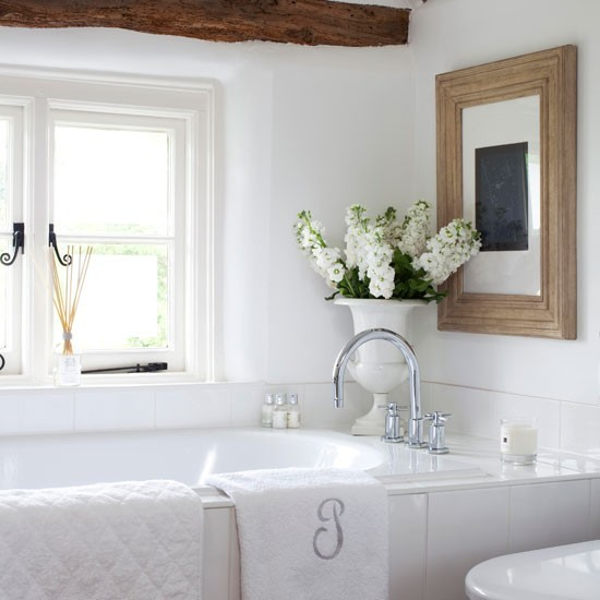 Fresh Elements Of Bathroom In Country Style Medium