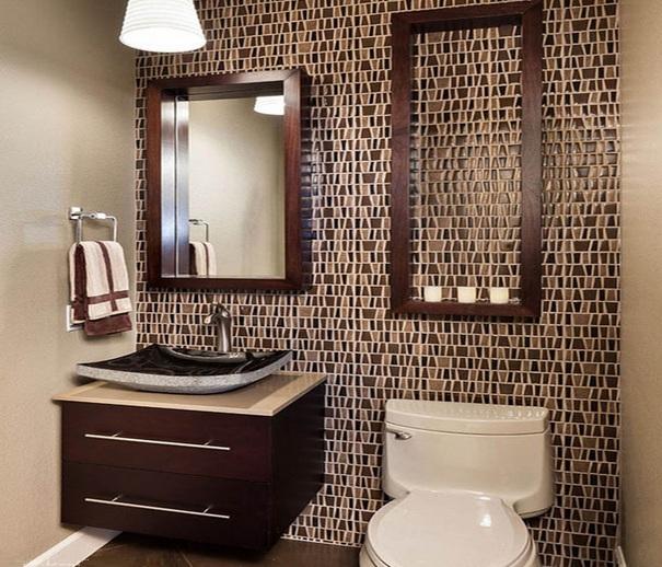 innovative 10 decorative small bathroom backsplash ideas with