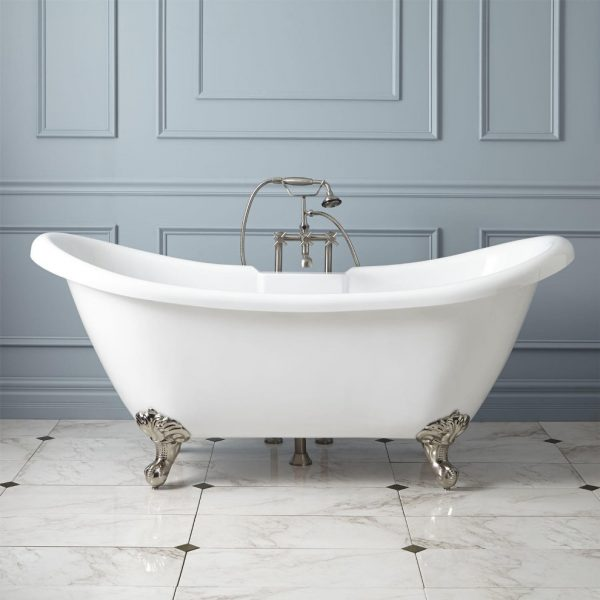 Innovative How To Paint Clawfoot Tub  The Homy Design Medium
