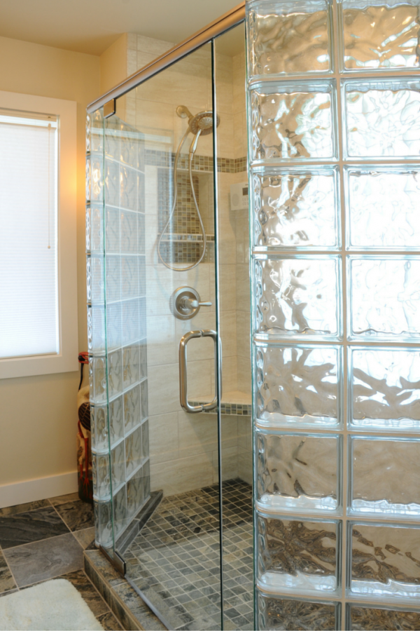 Inspiration 7 Myths About Glass Block Showers Medium