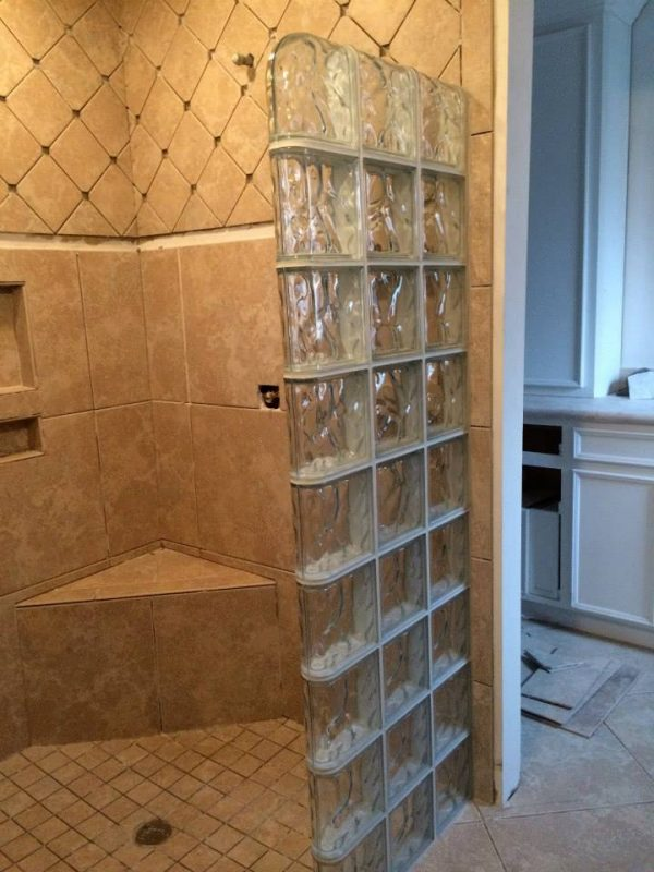 Inspirational Glass Block Showers Glass Block Shower Kits Medium