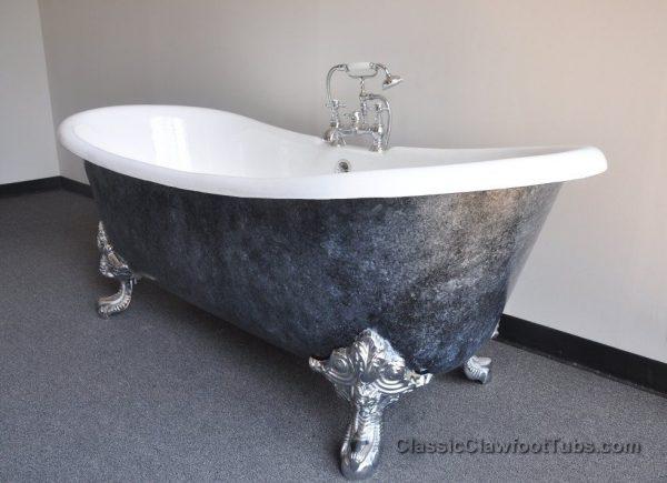 Perfect Painting Clawfoot Tub Exterior Medium