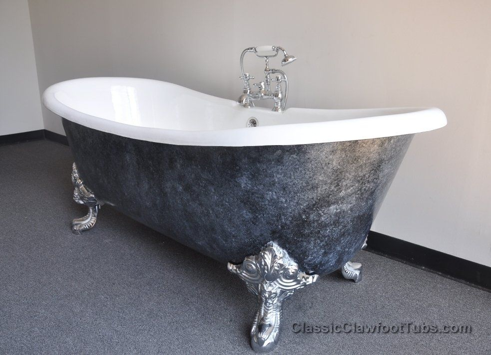 perfect painting clawfoot tub exterior