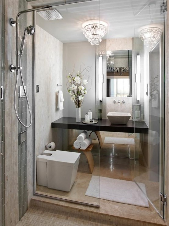 Style 26 Cool And Stylish Small Bathroom Design Ideas Digsdigs Medium