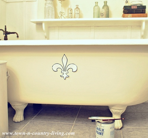 Top Painting A Claw Foot Tub Live Creatively Inspired
