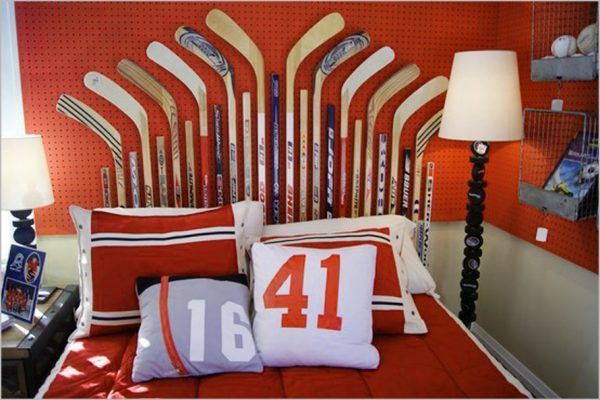 Boys Room Designs Ideas Hockey Themed Bedroom  Inspiration Medium