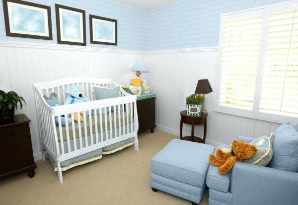 Brown And Blue Baby Room Blueridgeapartmentscom Medium