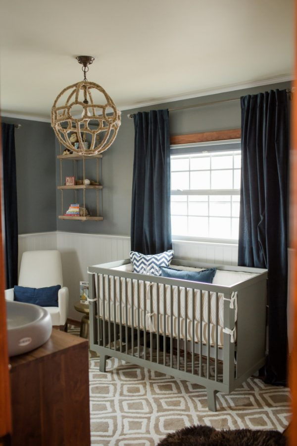 Browse Sophisticated Modern Nautical Nursery Project Nursery Medium