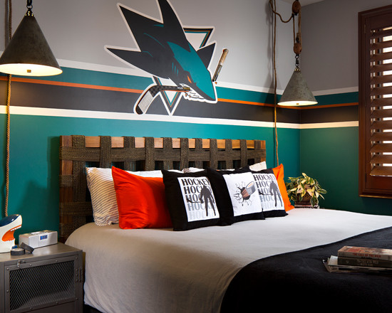 Creative Hockey Room Ideas Design Dazzle Medium