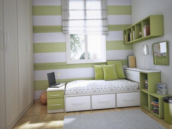 Example Of A Beautiful Bedroomsmall Bedroom Storage Ideas With Medium