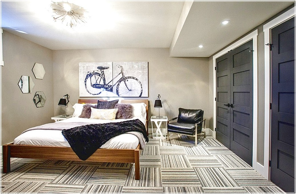 fresh basement bedroom ideas with very attractive design