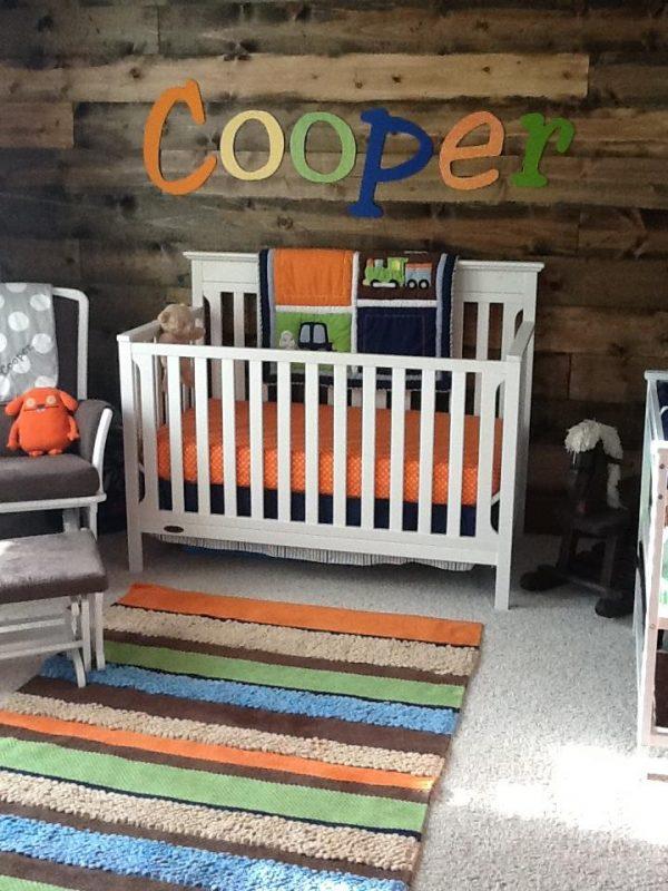 Fresh Rustic Yet Modern Baby Boy Nursery Project Nursery Medium