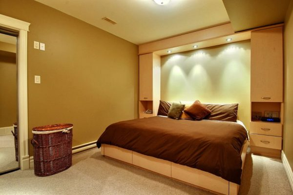 Innovative Cool Basement Bedroom Ideas  New Home Designideas For Medium