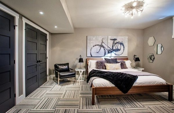 Inspiration 20 Cool Bedroom Ideas For Your Basement Medium