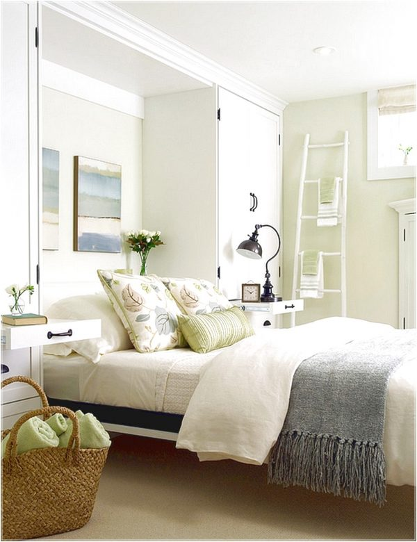 Inspiration A Breezy And Cool Color Scheme For The Basement Bedroom Medium