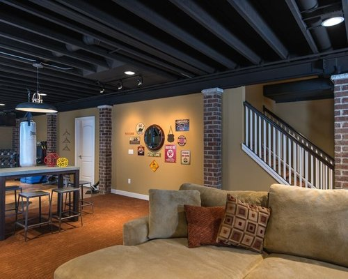 Inspirational Cool Basement Ideas Ideas Pictures Remodel And Decor Medium