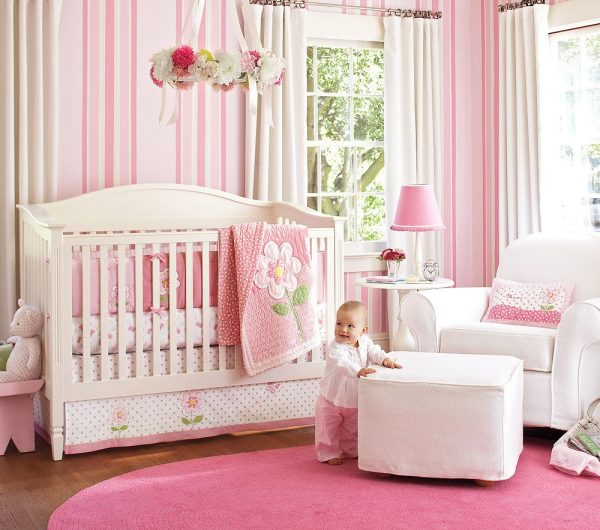 Looking Nice Pink Bedding For Pretty Baby Girl Nursery From Medium