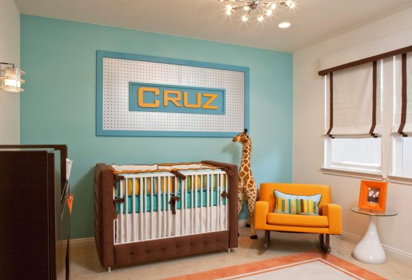 Our Favorite Retro Modern Nursery By Little Crown Interiors Medium