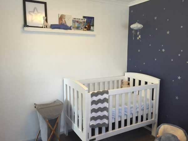 search starry nursery for a much awaited baby boy  project nursery medium
