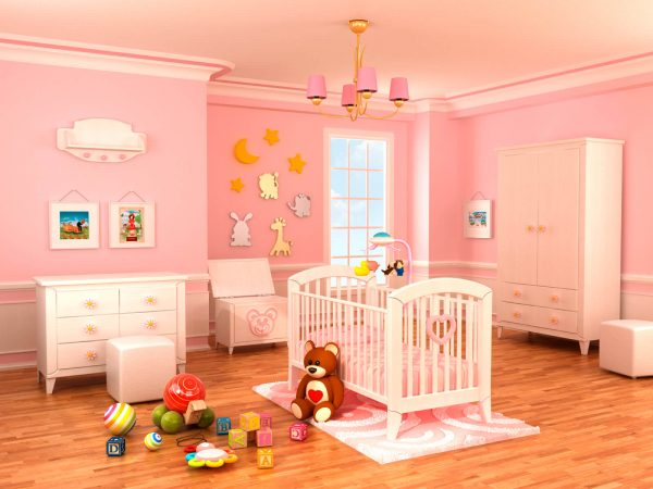 We Share 18 Baby Girl Nursery Ideas Themes   Designs Pictures Medium