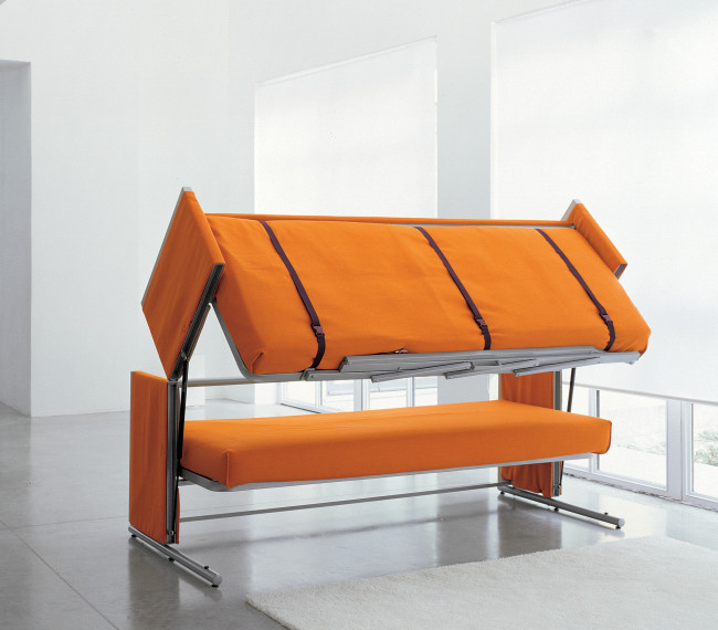 browse convertible bunkbed couch folds out into a doubledecker bed