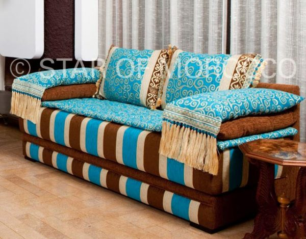 Clever Moroccan Modern Sofa Medium