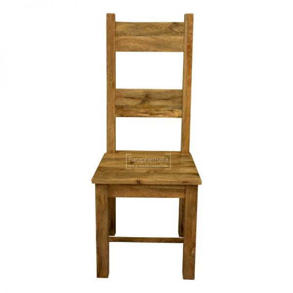 Explore Garda Light Mango Wood Dining Chair Pair Medium
