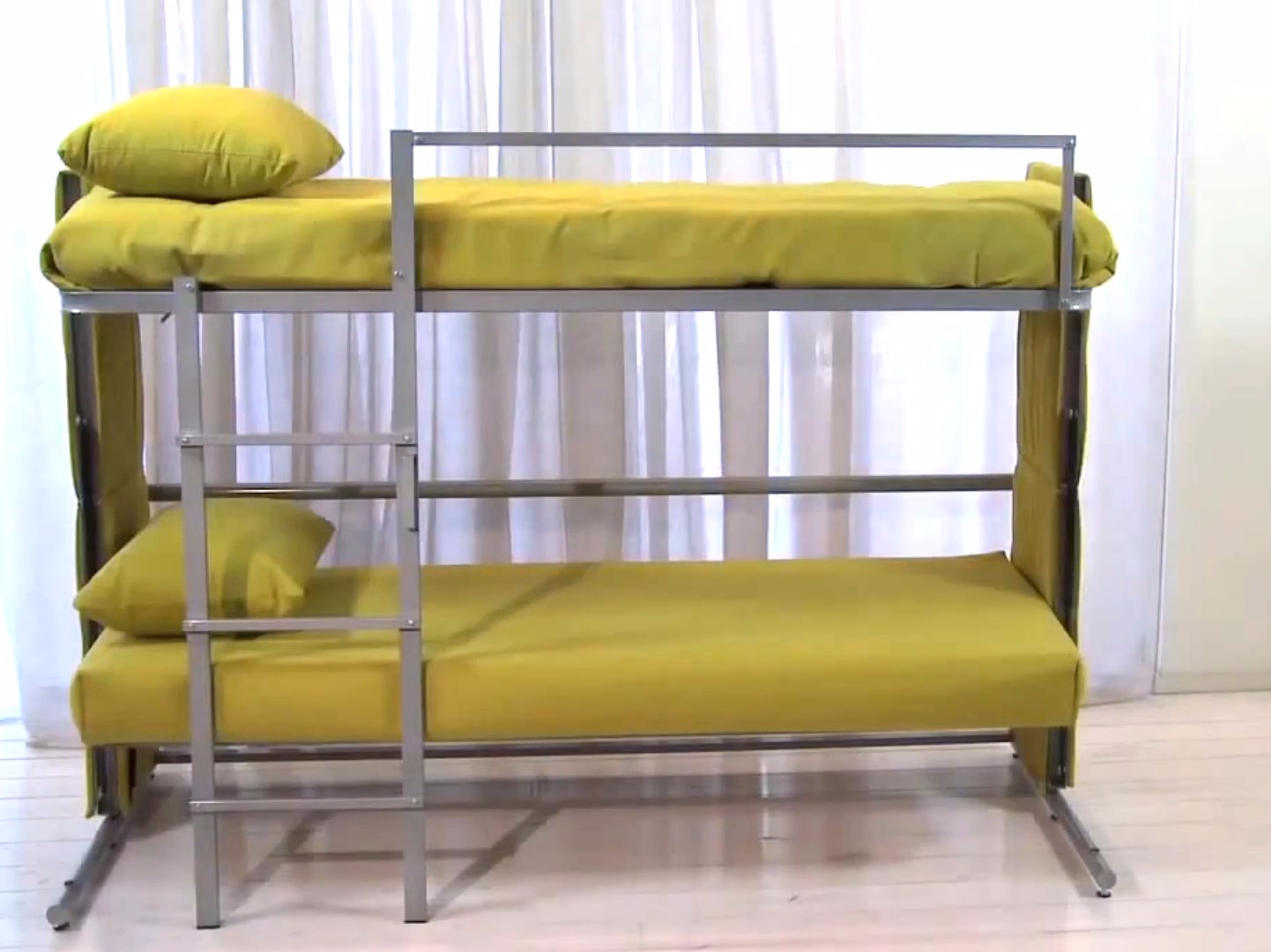 explore sofa into bunk bed twinny couch morphs into bunk bed just