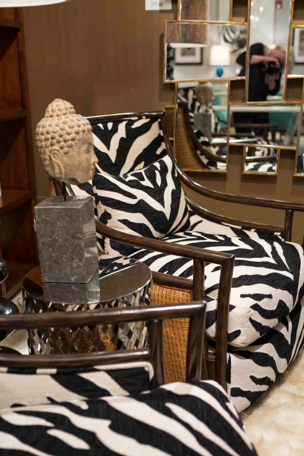 Furniture Best Pictures Zebra Print Saucer Chair For Medium