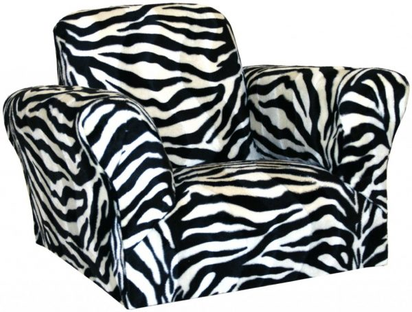 Furniture Large Pictures Zebra Print Saucer Chair For Medium