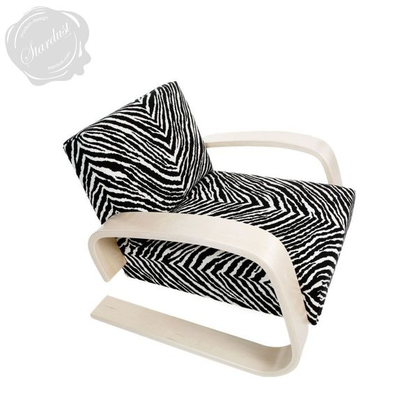 Furniture Mid Century Pictures Zebra Print Saucer Chair For Medium