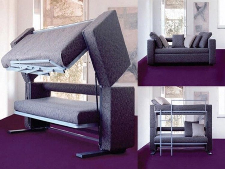 inspiration 10 trendy bunk bed couch designs